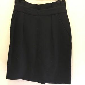 Kate Spade High Waist Wool Blend Skirt  6
